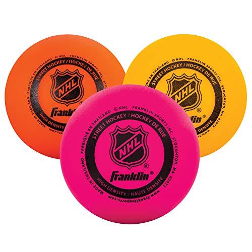 Franklin Sports NHL Multi-Density Ball-Set, 3 Stück