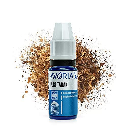 AVORIA – Liquid Aroma Konzentrat 12 ml zum mischen für E Liquid mit neutraler Base | Aromen ohne Nikotin zum selber mischen für E-Zigaretten - Pure Tabak