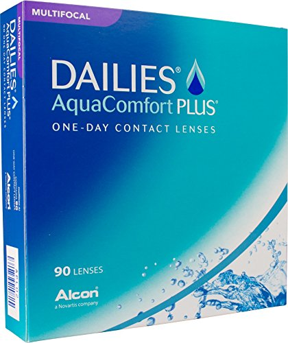 Dailies AquaComfort Plus Multifocal Tageslinsen weich, 90 Stück, Kontaktlinsen Tageslinsen Multifokal