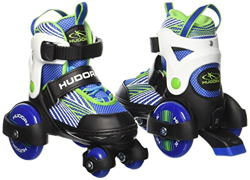HUDORA Rollschuhe My First Quad 2.0 Boy, Gr. 30-33 - Roller-Skates Jungen - 22041