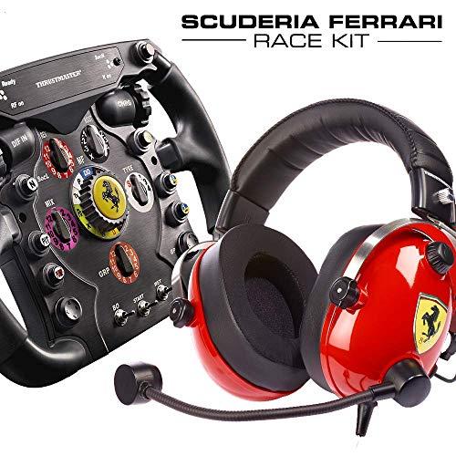 Thrustmaster Scuderia Ferrari Race Kit (Lenkrad AddOn, Gaming-Headset, PS4 / Xbox One / PC)