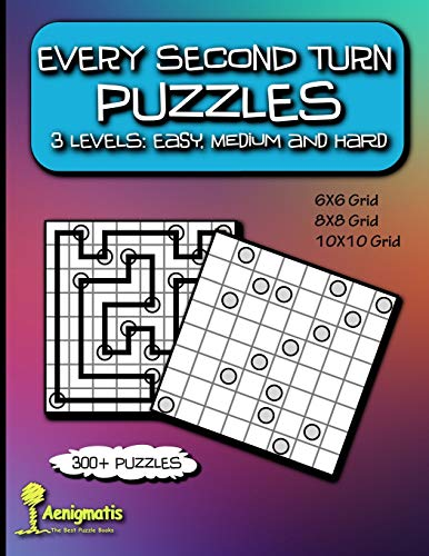 Every Second Turn Puzzles: 3 Levels: Easy, Medium and Hard