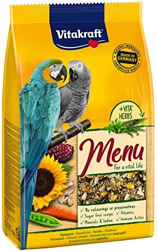 Vitakraft Vogelfutter Papagei Menü, 1x 3kg