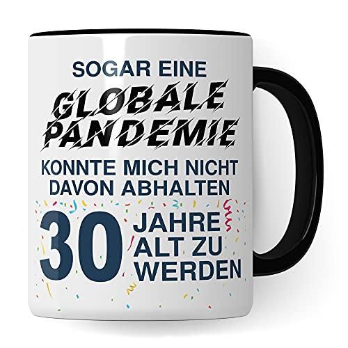 30. Geburtstag Männer Tasse, Geschenk 30 Geburtstag Mann, Becher 30 Jahre alt Werden Spruch Kaffeebecher Geschenkidee, Kaffeetasse 1991 Jahrgang Geburtstagsgeschenk Witz 2021