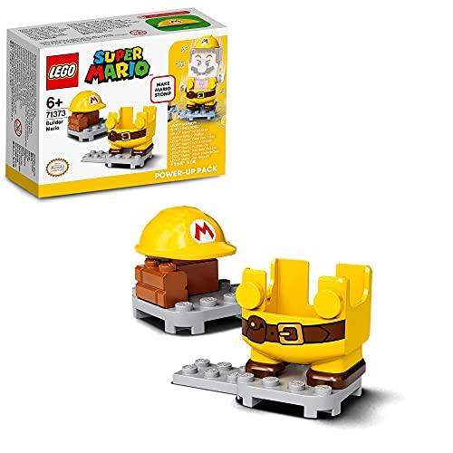 LEGO 71373 Super Mario Baumeister-Mario - Anzug- Erweiterungsset, Baumeister Power-Up Pack