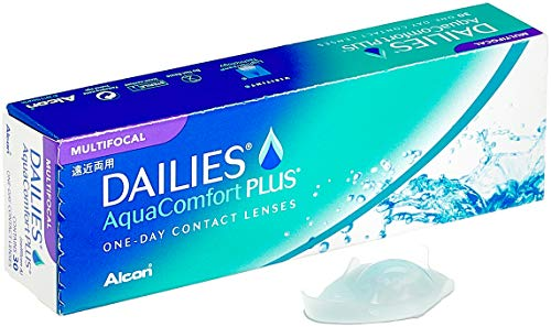 Dailies AquaComfort Plus Multifocal Tageslinsen weich, 30 Stück / BC 8.7 mm / DIA 14.0 mm / ADD MED / +1.25 Dioptrien