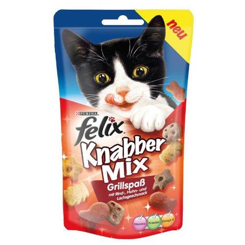 Felix | KnabberMix Grillspaß | 8 x 60 g