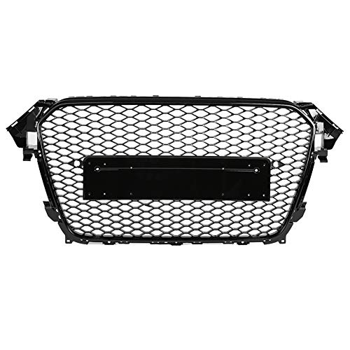 KIMISS Aoto Grill Hex Mesh,Auto Nesh Grill Frontstoßstangengrill RS4 Wabengrill für A4/S4 B8.5 13-16