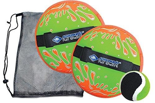 Schildköt Funsports Unisex Funsports Ball, Neopren Klettball Set, 970222,Einheitsgröße EU