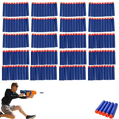 ZoneYan Darts Pfeile Nerf, Nerf Mega Pfeile 200, Dart Nachfüllpack, Nerf Darts Original, Mega Pfeile für Nerf, Refill Bullets für Nerf N-Streik Elite Series