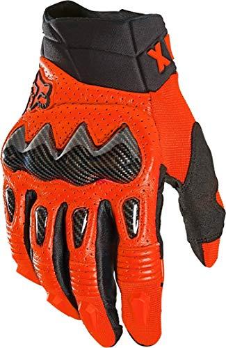Fox Racing Herren Bomber Mountain Biking-Handschuh, Feuerrot, Größe S