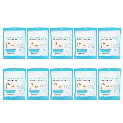 Ymiko 10 Stück Übergroße Einweg Badewanne LinerCover Film Badetasche für Haushaltsreisen Spa Hotel Baby für Sauna, Haushalt und Hotel Badewannen, Vermeiden Sie mögliche Kontaminationen