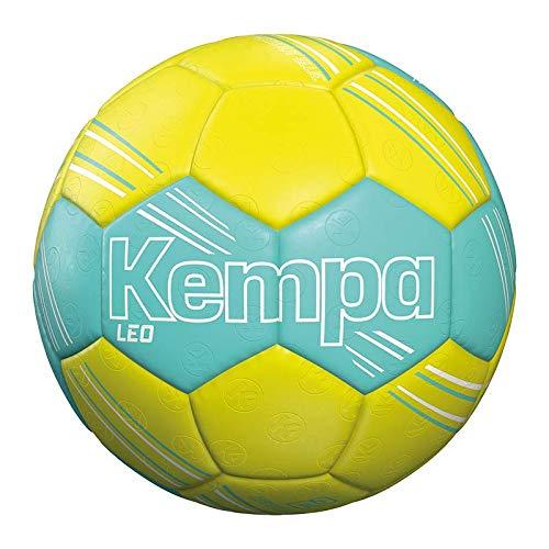 Kempa Leo Handball, türkis/Fluo gelb, 1