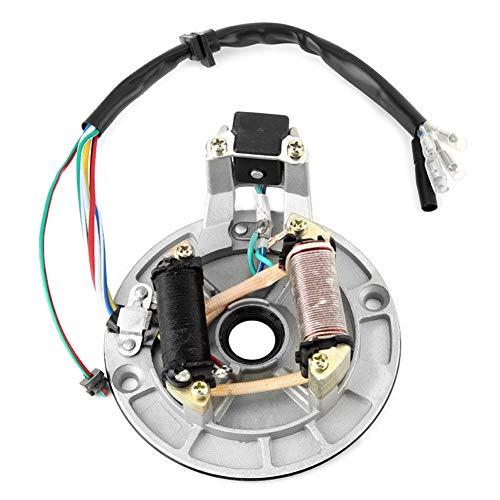 Stator Zündspule, JH70 Statorplatte Pickup Magneto Zündspule Rotor für Pit/Dirt Bike 70ccm 90ccm 110ccm 125ccm