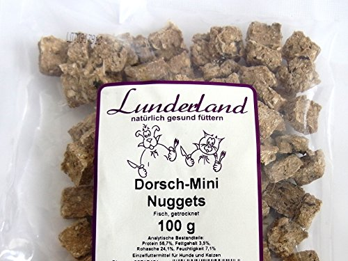 Lunderland Dorsch-Mini-Nuggets, 100g