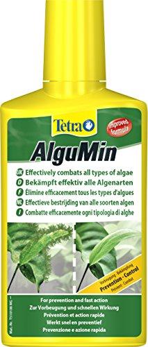 Tetra AlguMin (bekämpft schnell alle Arten von Algen und verhindert effektiv die Neubildung)