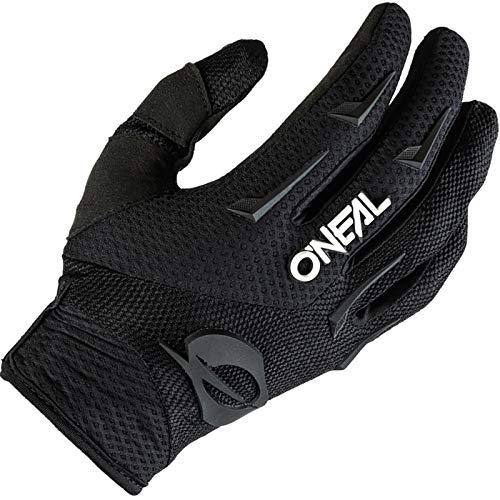 O'NEAL | Fahrrad- & Motocross-Handschuhe | Kinder | MX MTB DH FR Downhill Freeride | Langlebige, Flexible Materialien, belüftete Handinnenfläche | Element Youth Glove | Schwarz Weiß | Größe S