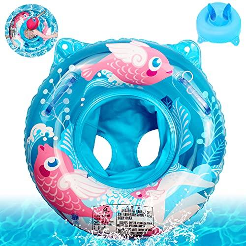 Baby Float schwimmreifen,Baby Schwimmring,Baby schwimmring aufblasbarer,Schwimmsitz Baby Schwimmhilfe,Baby Aufblasbarer schwimmreifen,Float Kinder Schwimmring,Kinder Schwimmreifen Spielzeug (Blau)