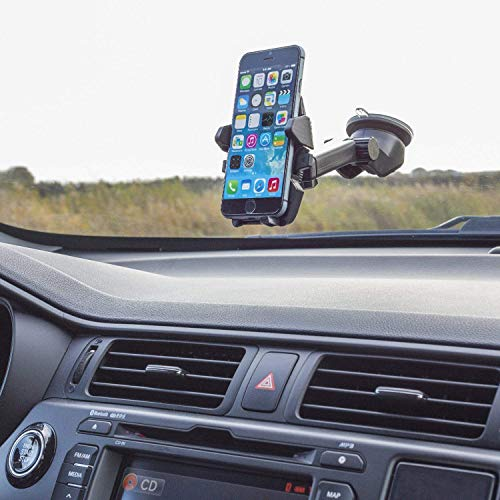 TronicXL Universal Saugnapf Halterung Halter KFZ Auto kompatibel mit für Android Smartphone CAT S60 Outdoor Caterpillar S61 S52 S31 S41 77333 S60 S30 B30 B35 218970 B25 B15Q B26 CS40DEB E02 Handy
