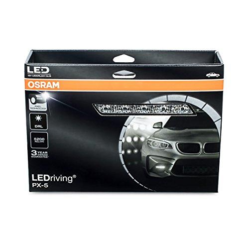 Osram LEDriving PX-5, LED-Tagfahrlicht, 5 LEDs, LEDDRL301, Faltschachtel (1 Paar)