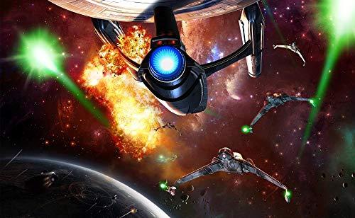 UKMNB Puzzle 1000 Teilepuzzle Für Erwachsene Star Trek Filmplakat Impossible Puzzle,Puzzle Farbenfrohes Legespiel,Geschicklichkeitsspiel Für Die Ganze Familie