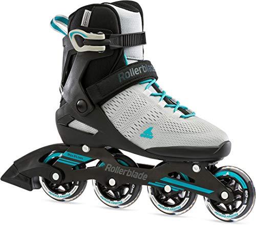 Rollerblade Spark 80 W Inline Skate 2021 Grey/Turquoise, 38.5