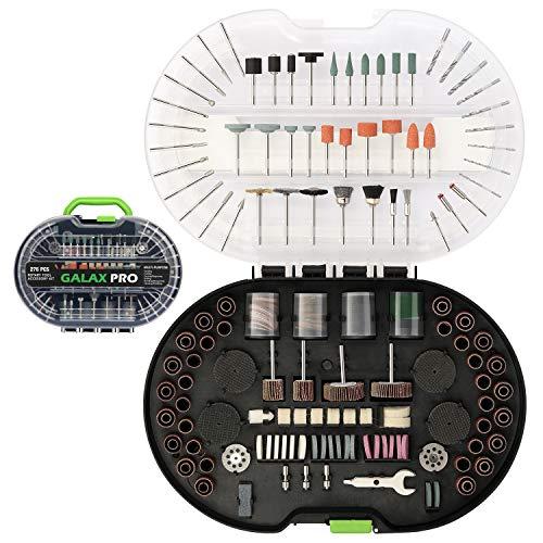 GALAX PRO 276PCS Zubehörset für Multifunktionswerkzeug, Zubehörset, Universal Zubehör einfach zum Schneiden, Schleifen, Polieren, Bohren und Gravieren mit Tragekoffer (276PCS)