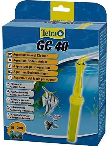 Tetra GC Aquarien-Bodenreiniger (mit Schlauch, Schnellstartventil und Fischschutzgitter, Mulmsauger mit Saugrohrkonstruktion, geeignet für Aquarien von 50 – 200 Liter)