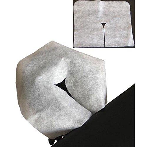 Einweg Kopfstützen-Auflage Premium, Beutel à 100 Stück, 40 x 30,5 cm, Hygieneauflage für Massageliegen