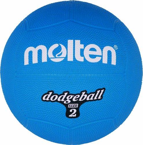 Molten Dodgeball Blau Ball, one Size