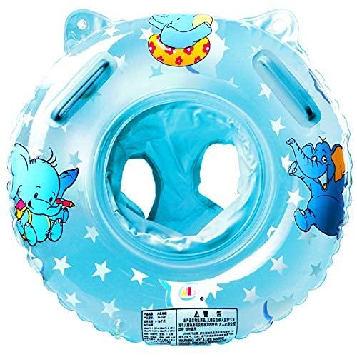 Schwimmring Baby Schwimmsitz Kinder Schwimmreifen Spielzeug, Kleinkinder ab 6 Monate bis 3 Jahre, Blau