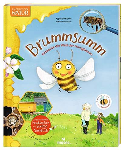 Expedition Natur: Brummsumm Entdecke die Welt der Honigbienen | Ein Buch für wissbegierige Forscher und Entdecker | Vorlese- und Sachbuch für Kinder ab 6 Jahren