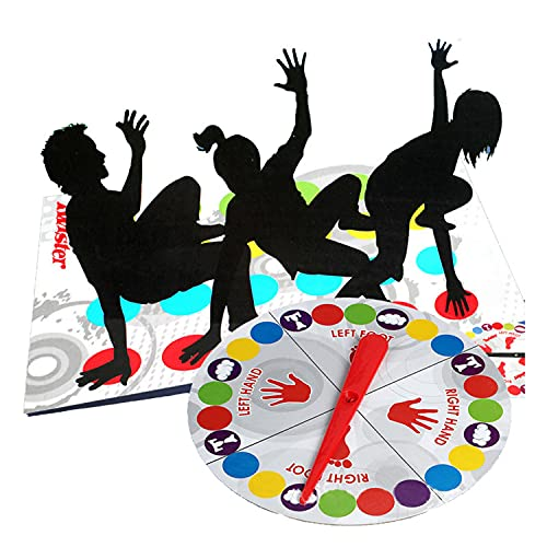 Kinderspiel Spielmatte Bodenmatte Bodenspiel Familienspiel, Partyspiel, Lustiges Spiel Geschicklichkeitsspiel für Kinder & Erwachsene - Englische Version
