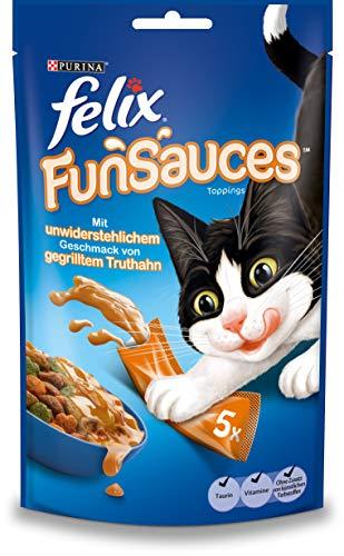 Felix Snacks FUNSAUCES Truthahngeschmack, 12er Pack (12 x 5 x 15 g)