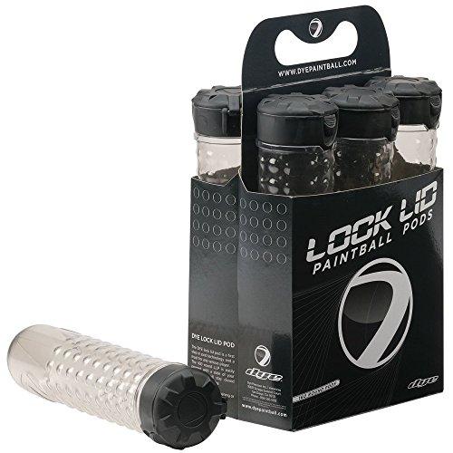 DYE Lock Lid Pod, 6er Pack, Smoke, 60029506