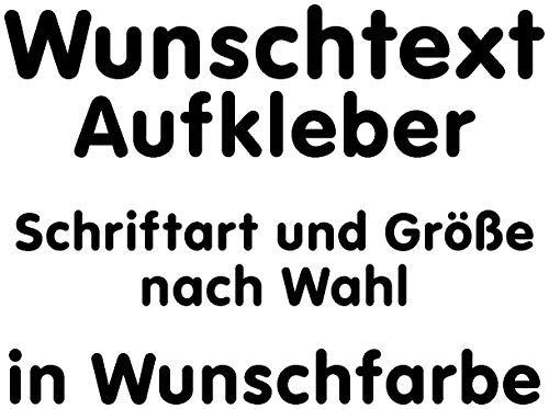 Samunshi® Tuning Aufkleber selbst gestalten Buchstaben Aufkleber Name Schriftzug Aufkleber Wunschtext Sticker selbst gestalten Autoaufkleber