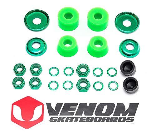 Venom Skateboards LKW Universal Buchsen & Muttern Umbau-Kit – Zylinder – Soft 80a