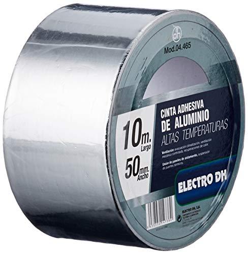 Klebeband Aluminium-besondere Einsatztemperatur Lüftung und Isolierung Breite 50mm Länge 10m ElectroDH 04.465