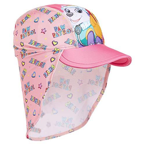PAW PATROL Badekappe Kinder, UV Schutz Kinder Badekappe Wasserdicht Mädchen, Lange Schwimmhaube Pink (Pink)