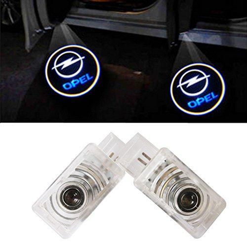 XYSTAR 2 Stück Autotür LED Logo Einstiegsbeleuchtung Projektion Licht Türbeleuchtung Welcome Licht