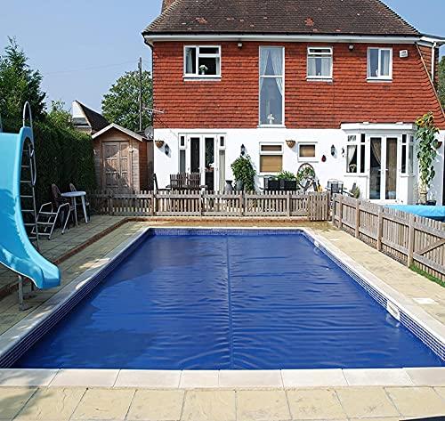 Abdeckplane Pool Rechteckig Schwimmbadabdeckung für Villa-Einbaupools, PE-Blasen-Wärmedämmfolie Sonnenschutzdecke, 1m/2m/3m/4m/5m/6m/7m (Size : 1.5x5m/4.9x16.4ft)