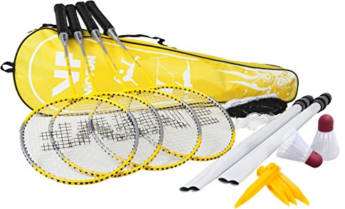 VICFUN Hobby Badminton Set Family, Gelb, One size, 795/0/1