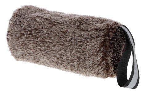 Kerbl Snackdummy Plüsch für Hunde, Perfekter Lerneffekt für Aufmerksamkeit, Gehorsam und Apportieren 16 x 7 cm