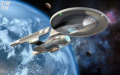 72Tdfc DIY 5D Diamant-Malerei - Star Trek Filmplakat - Kits Malen Nach Zahlen Diamond Painting Kits Full Drill Home Wand Decor