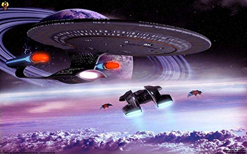1000 Piece Jigsaw lernspielzeug puzzlespiele Spielzeug Star Trek Raumschiff Filmplakat Valentine Boy Girl Friends Erwachsene Kinder geschicklichkeitsspiel Puzzle unmögliche