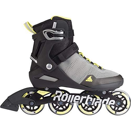Rollerblade Herren Aero 80 Sc Skateboardschuhe, Gelb (Grigio/Giallo Solare A00), L