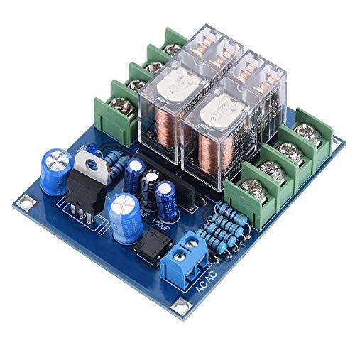 7812 + UPC1237 Relais, 12-24-V-Lautsprecherschutz-Relaismodul Hochpräzise doppelseitig verzinnte CNC-Leiterplatte, Lautsprecherzubehör