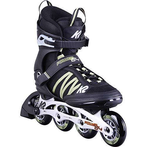 K2 Inline Skates POWER 84 Für Herren Mit K2 Softboot, Black - Sand, 30D0371