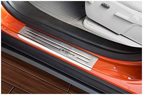 tuning-art EX113 Edelstahl Einstiegsleisten Set für Opel Mokka Mokka X 2012-