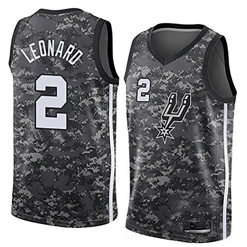 IFYG Hot Pressed NBA Spurs Basketball Trikot S Camouflage